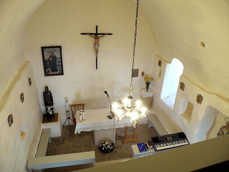 Gljivasti svod u crkvi Sv. Ante